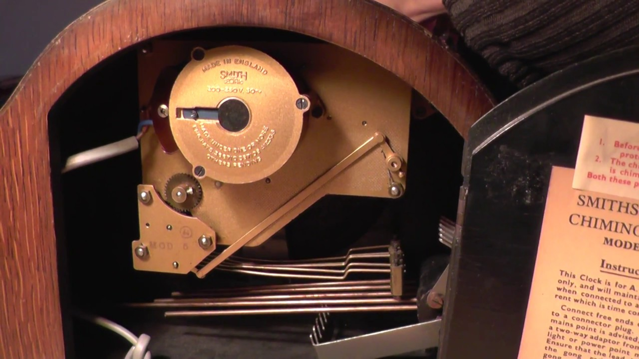 Smiths Sectric Chiming Electric Clock Youtube Building A Synchronous