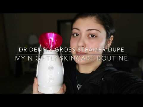 Dr Dennis Gross Steamer Dupe & My Skincare