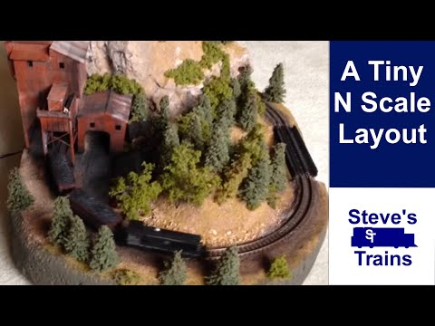 N Scale Micro Layout