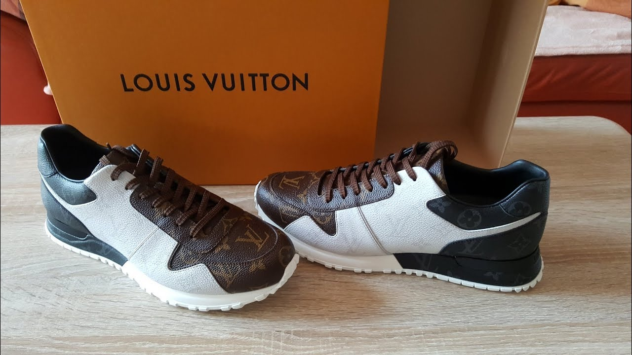 209d0b778fdd Louis Vuitton Run Away Sneaker REVIEW - YouTube