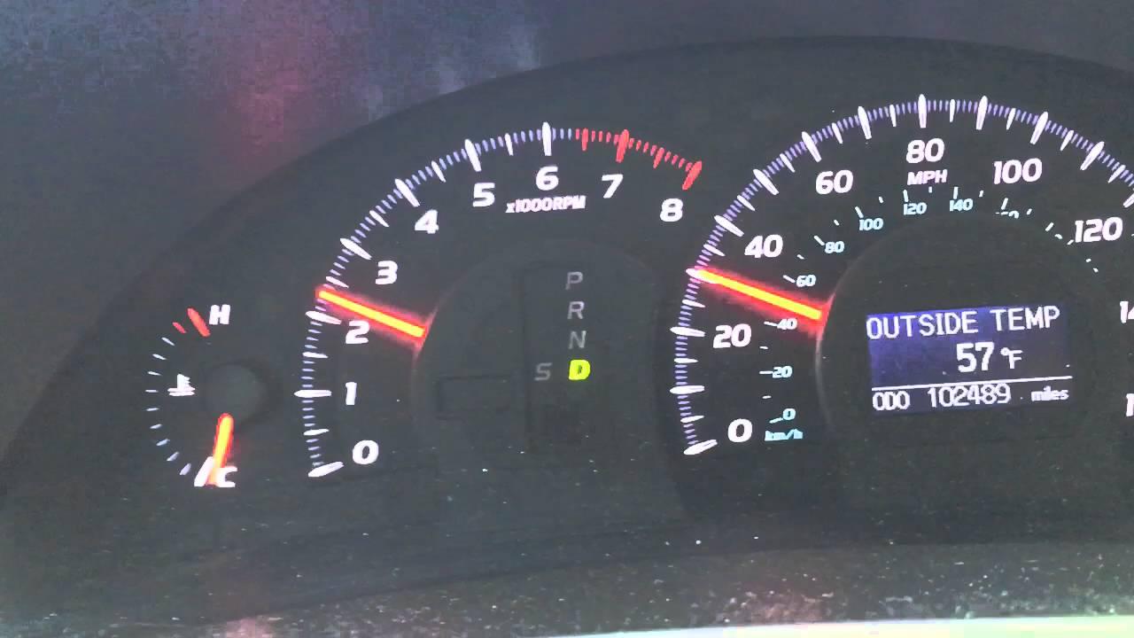 2007 Toyota Camry V6 Transmission Problem In Cold Start