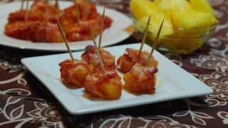 Pineapple Bacon Bites ~ Happy New Year