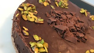 4 malzemeli pismeyen pasta/cikolatali pasta
