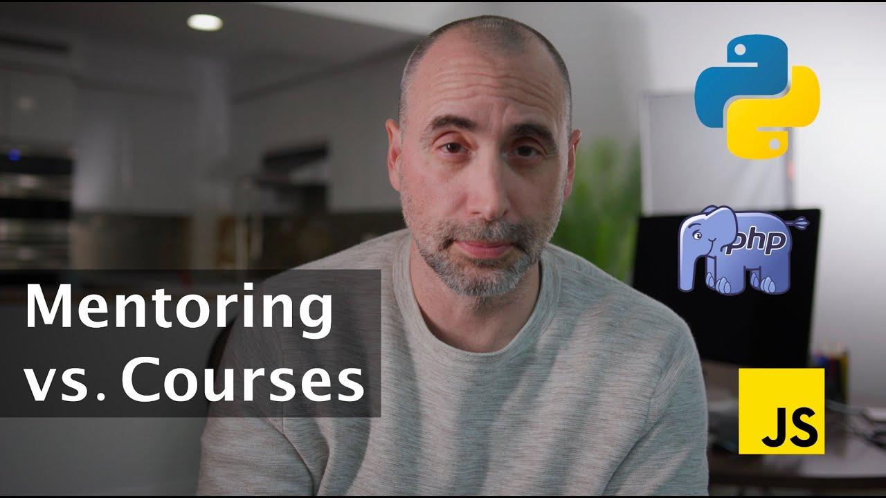 Developer Mentoring vs Developer Courses?
