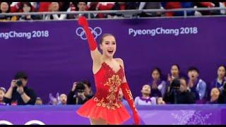 ALINA ZAGITOVA - Оlуmpic Champion | 2018 Free Program | Произвольная программа с комментариями NBC