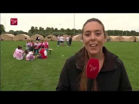 Nieuwe studenten ontdekken Almere
