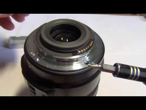 Разборка объектива Canon EFS 17-85mm и его ремонт