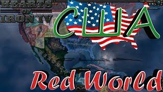 НАРОДНОЕ США В HOI4 Red World