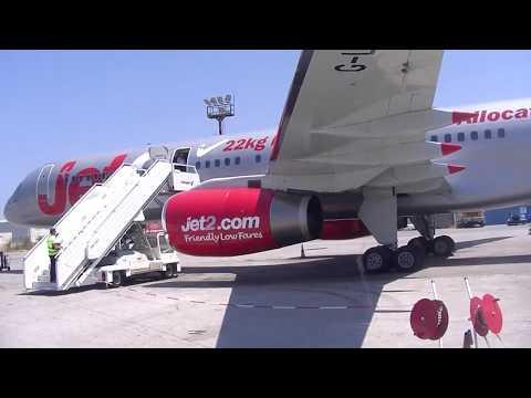 JET2.COM Boeing 757 200 G-LSAA Kos to Manchester 16 July 2017 Full flight
