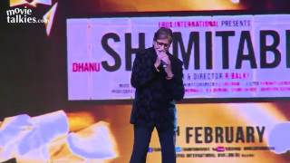 Amitabh Bachchan's Live Performance   Piddly Song   SHAMITABH Thumb