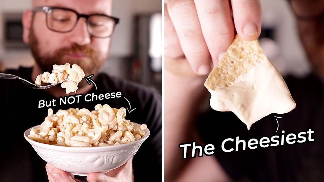 2 Ingredient Vegan Cheese base That Can Make ANY CHEESE
