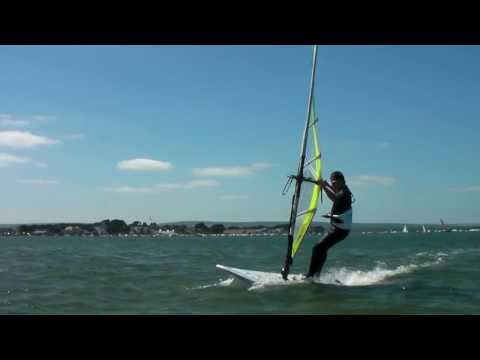 Improver Windsurfing Lessons - Non Planing Carve Gybe