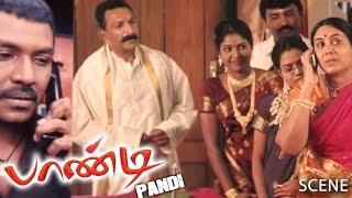 Pandi Tamil Movie   Scene   Raghava Lawrence's Last Sister Marriage