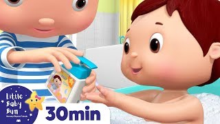 Bath Song! Nursery Rhymes & Kids Songs | Healthy Habits | Learn with Little Baby Bum
