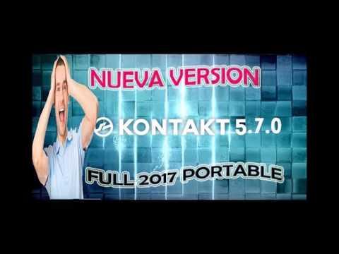 KONTAKT 5. 7 PORTABLE 2017 + 6 LIBRERIAS DE ALTA CALIDAD (TORRENT)