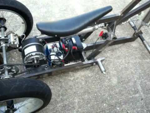 Electric Trike W Air Ride Suspension Pt 2 Youtube