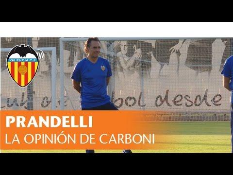 CARBONI HABLA SOBRE PRANDELLI | VALENCIA CF