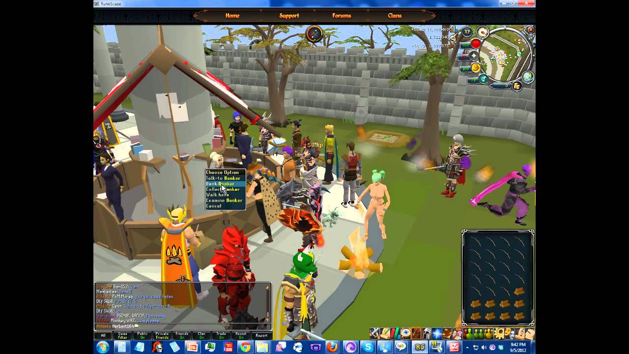 in cheat naked runescape