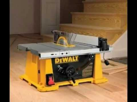 Dewalt Dw744xrs Table Saw How Deluxe Youtube