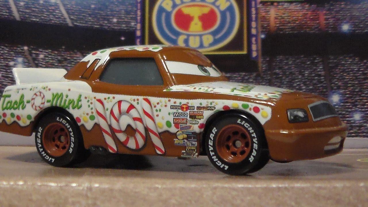 Mint Car: GREG CANDYMAN, TACH-O-MINT, NEW 2015 CARS MATTEL DISNEY