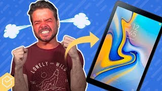 Fiquei IRRITADO COM A SAMSUNG! | Galaxy Tab A T590 / T595