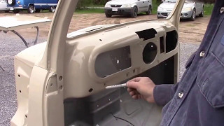 1950 Ford F47 F1 Cab & Doors Painted,  lastchanceautorestore com