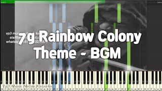 Theme - BGM (7g Rainbow Colony) Yuvan /Piano, Guitar, Flute, Saxophone, Voilin Notes