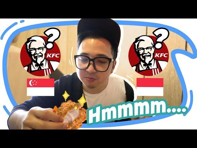 KFC SINGAPURA vs KFC INDONESIA Enakan Mana Ya??