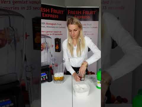Fresh Fruit Express Preparation Cocktail Waring Blender English