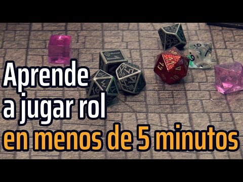 Aprende A Jugar Rol En Menos De 5 Minutos #A Jugar [1]