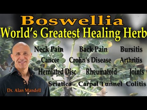 Boswellia - The World's Greatest Healing Herb (Inflammation, Pain, Arthritis, Cancer) - Dr Mandell