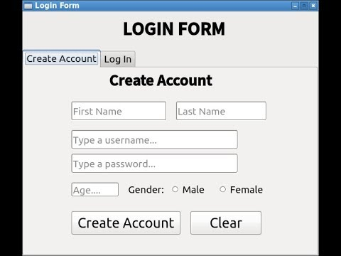 Python PyQt And SQL Login Form || GUI