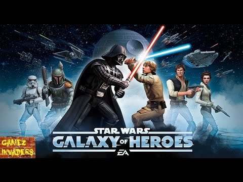 Star Wars Galaxy of Heroes Mobile/Tablet/iphone/ipad Game First Look Playthrough