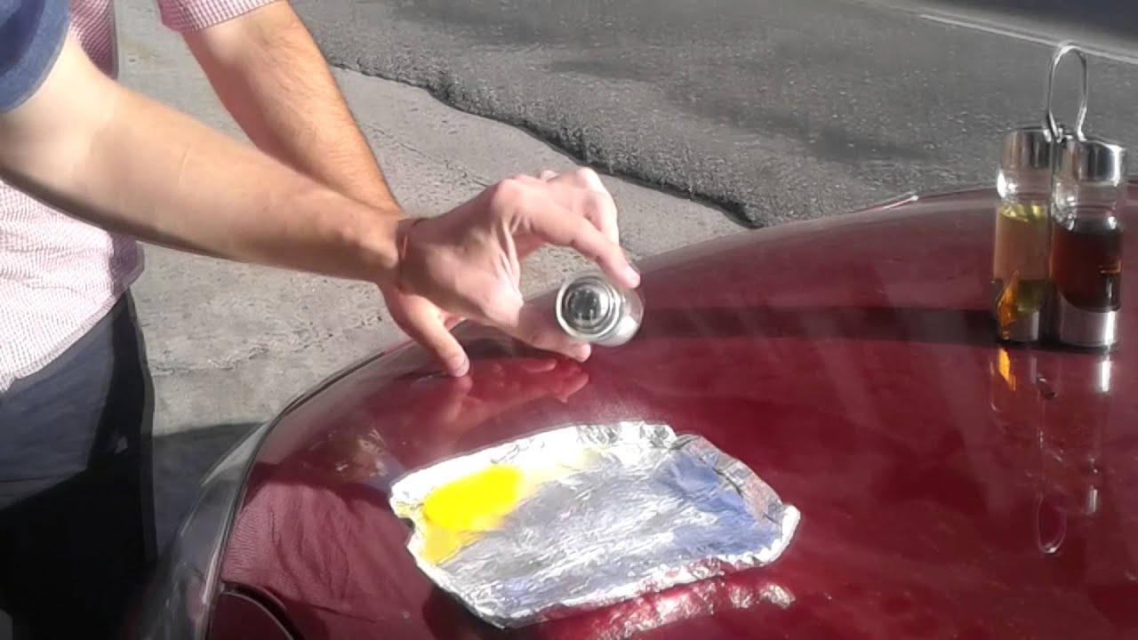 D a a d a intent cocinar un huevo al sol funciona youtube for Coche huevo