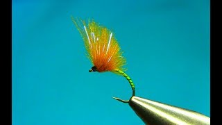 Fly Tying a Yellow Owl Emerger Variation  by Mak