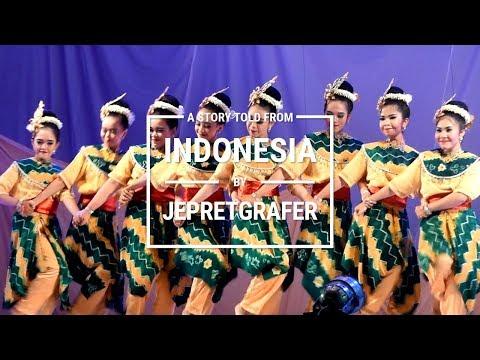 Sanggar Galuh Banjar, Kambangan Japin Dance - World Dance Day South Kalimantan / Borneo 2018