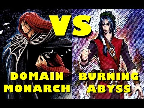 Real Life Yugioh - DOMAIN MONARCH vs BURNING ABYSS | June 2016 Not-so Scrub League