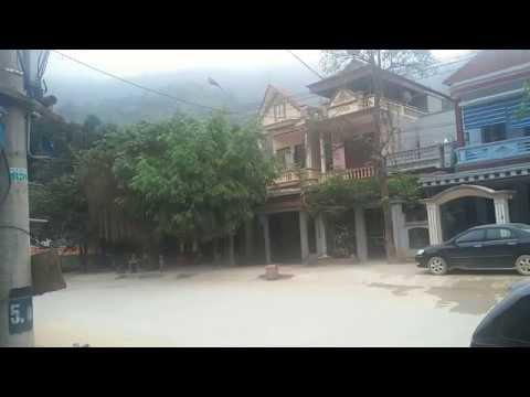 Một góc thị trấn Quan Sơn - Thanh Hóa