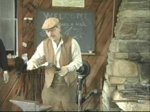 Blacksmith 'Let's Make a Nail'