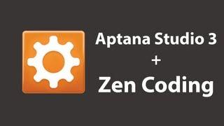 Aptana Studio 3 + Zen Coding
