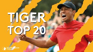 Tiger Woods' Best Shots on European Tour