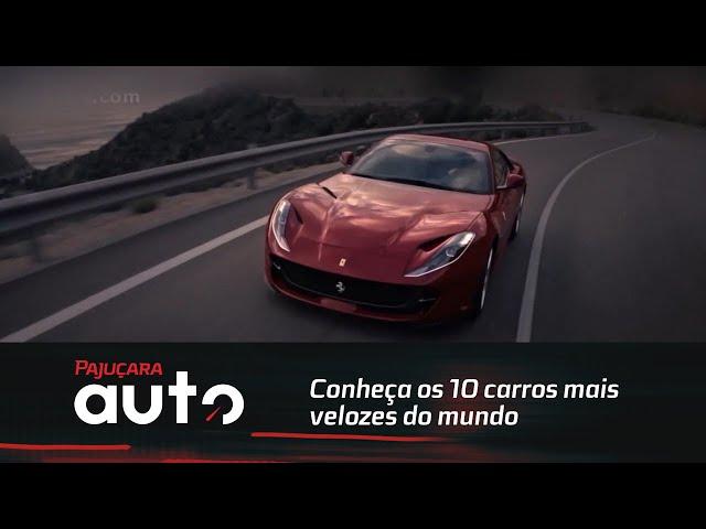 Conheça os 10 carros mais velozes do mundo