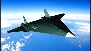Russia Pak Da Stealth Bomber Concept Simulation [480p]