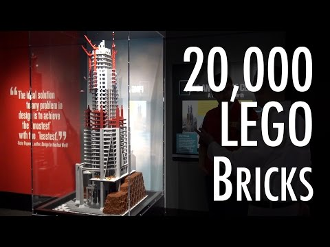 LEGO Ping An Finance Center | Museum of Science and Industry