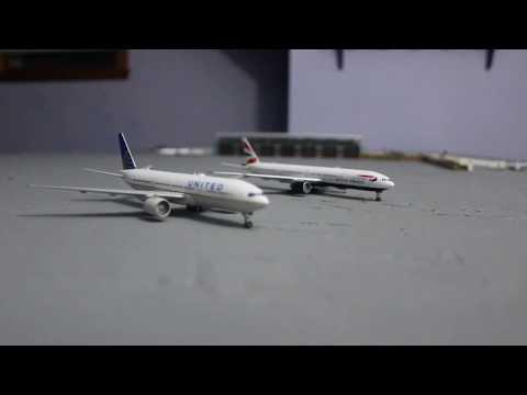 Gemini jets comparison video #2: 777-200 vs 777-300