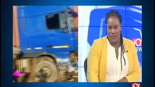 Ofankor Barrier Accident: 15 Persons In Critical Condition - News Desk on JoyNews (14-10-19)