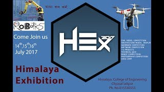 LARGEST TECHNOLOGY FEST - HEX 2017 || LATEST PROMO || 14th, 15th and 16th July