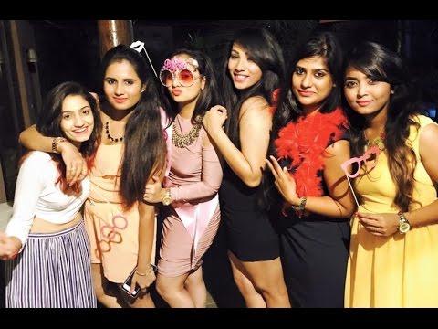 Amulya Bachelors Party Celebration With Friends