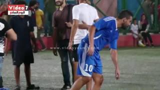 أول مدرب لرمضان صبحى يوقف مباراته بـ أرض اللواء لتصويره مع أحد أصدقاءه
