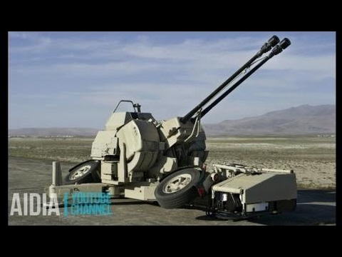 OERLIKON 35MM TWIN CANNON ANTI AIRCRAFT GUN | AIR DEFENSE SYSTEM